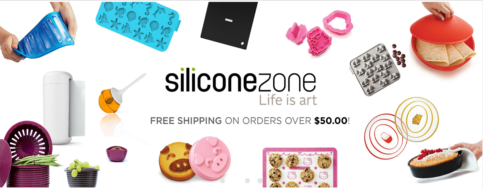 Silicone Zone website screenshot